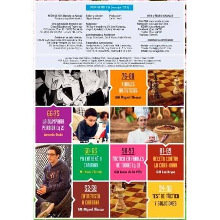 Revista escacs Peó de Rei nº 134