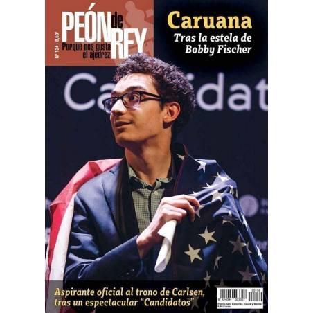 Revista ajedrez Peón de Rey nº 134