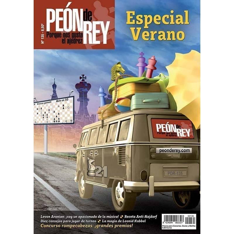 Chess magazine Peón de Rey nº 135