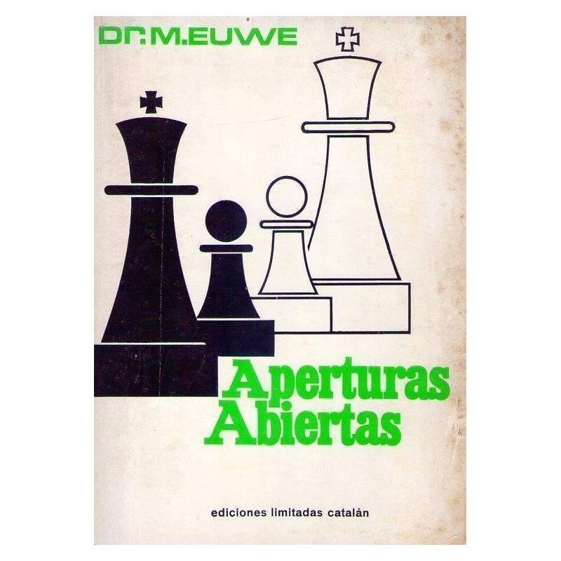 Libro ajedrez Aperturas abiertas