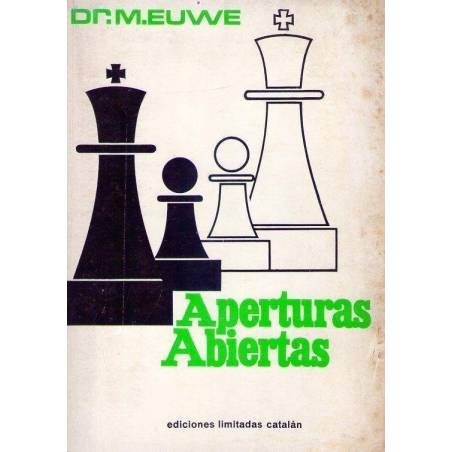 Chess book Aperturas abiertas