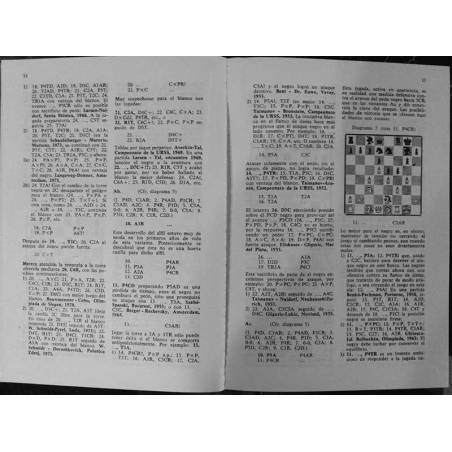 Chess book Defensas indias