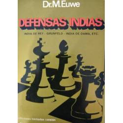 Libro ajedrez Defensas indias