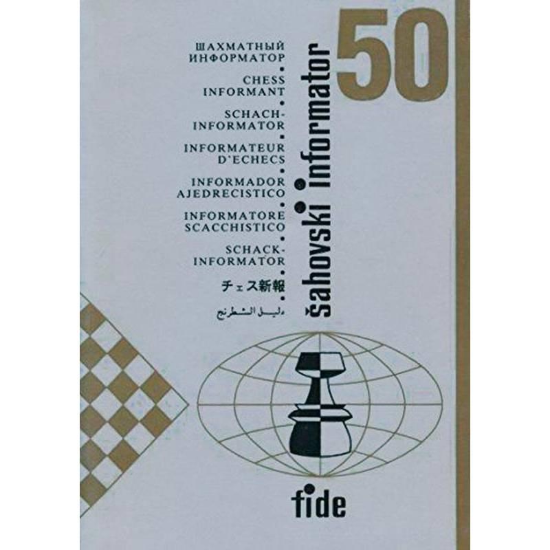 Libro ajedrez Sahovsky Informator 50