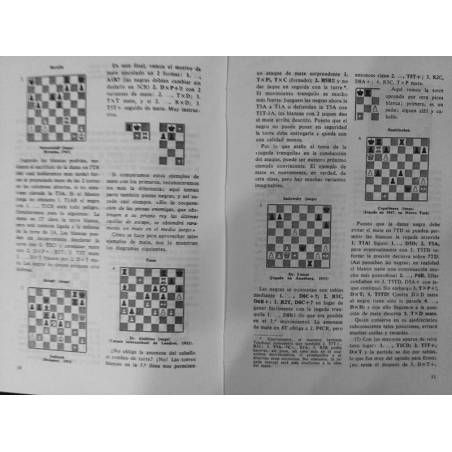 Libro Combinaciones en ajedrez