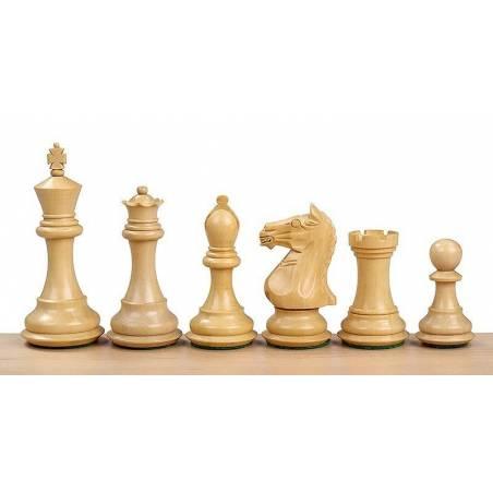 Peces escacs fusta Supreme 97 mm.