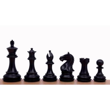 Piezas ajedrez madera Supreme 97 mm.