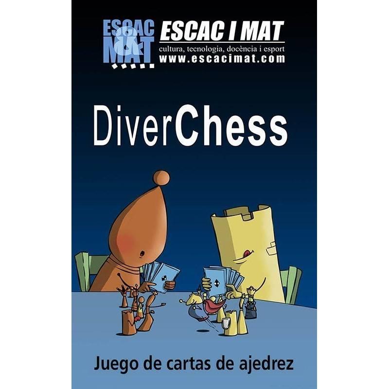 Juego de cartas de ajedrez Diverchess
