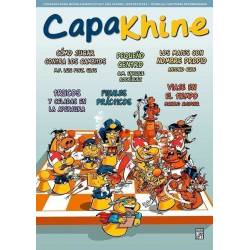 Chess magazine Capakhine nº 15. Half for children half for parents