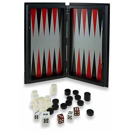 Ajedrez - Damas - Backgammon magnético