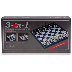 Chess - Checkers - Magnetic Backgammon