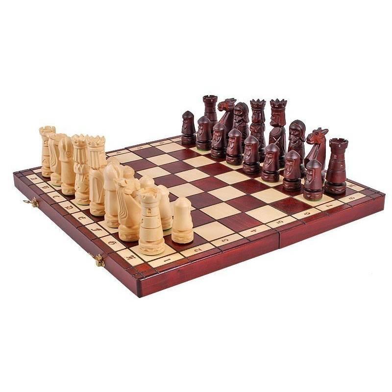 Chess Set Castle medium