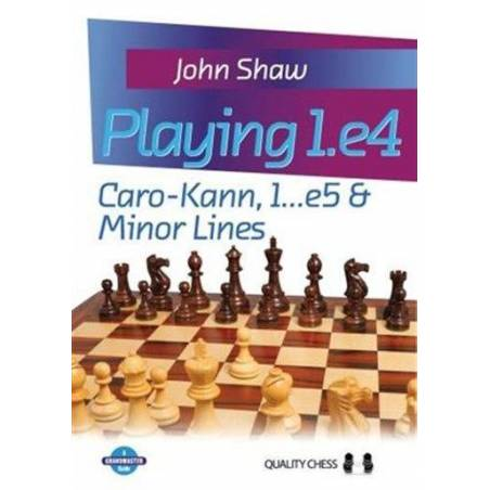 Playing 1.44: Caro-Kann 1...e5 & minor lines