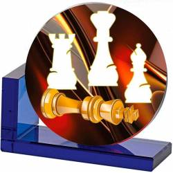 Chess trophies 5375