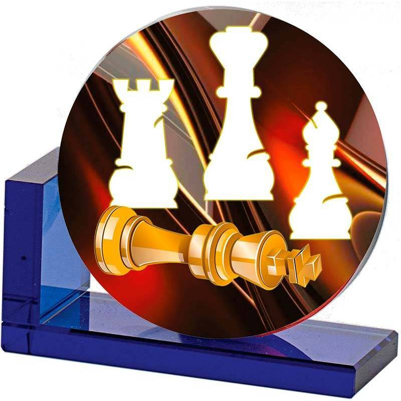 Chess trophies 4386