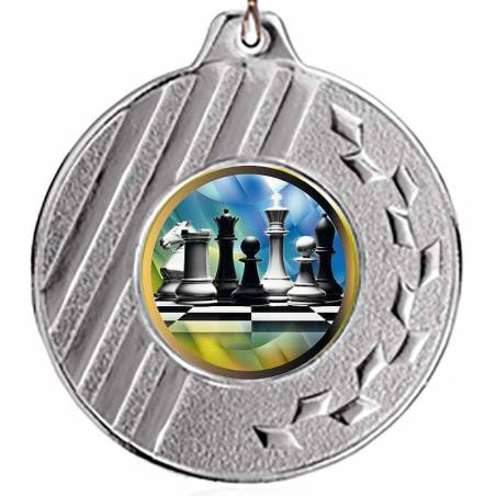 Chess medals for their championships 50 mm. K021L