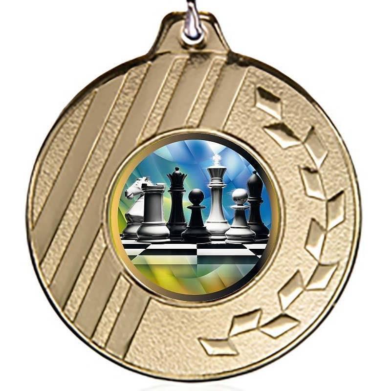 Medallas de ajedrez para sus campeonatos 50 mm. K021L