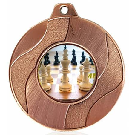 Medalles d'escacs per als seus campionats 50 mm.