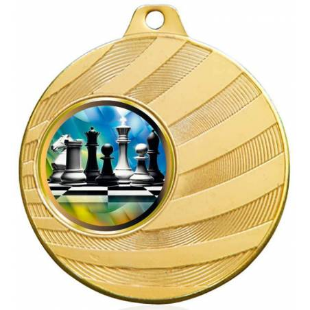 Chess medals for their championships 50 mm.