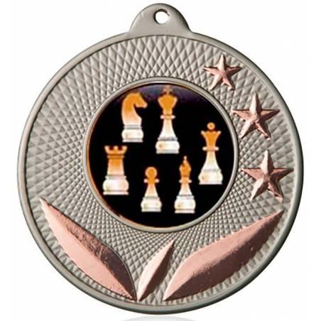 Medallas de ajedrez para sus campeonatos 50 mm. 051L