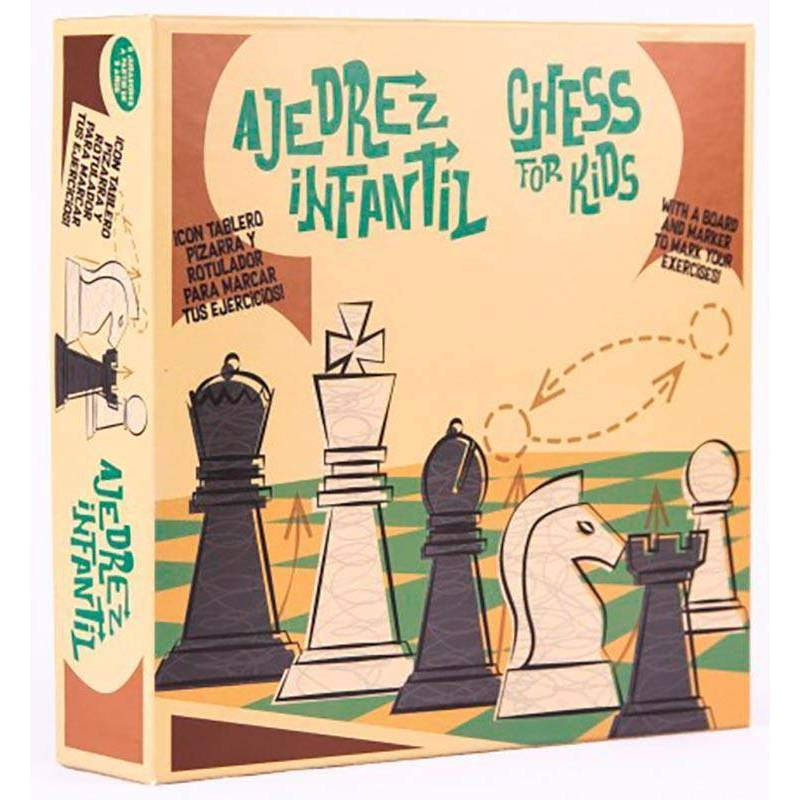 Paintable chess for schools and clubs