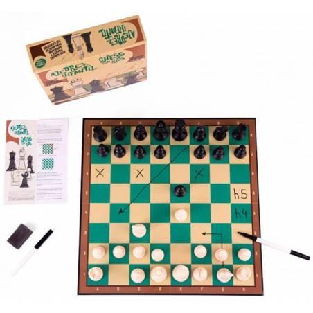 Escacs pintable per a col·legis i clubs