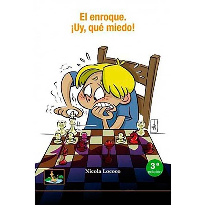 Libro ajedrez El enroque. Uy que miedo
