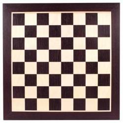 Tauler escacs Wengué 44 cm.