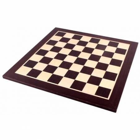 Chess board Wengué 44 cm.