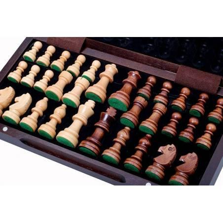 Conjunto de ajedrez magnético 30 cm.