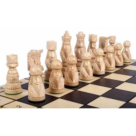 Thematic chess set Pop