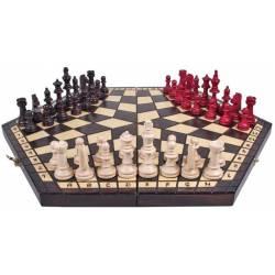 Escacs 3 jugadors plegable 47 cm.