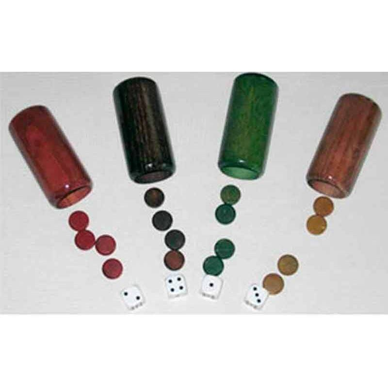 Accessories parchis goblets deluxe 4 players