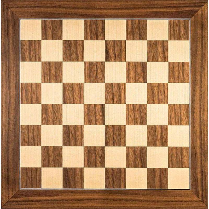 Chess board Nogal 40 cm. top. Rechapados Ferrer