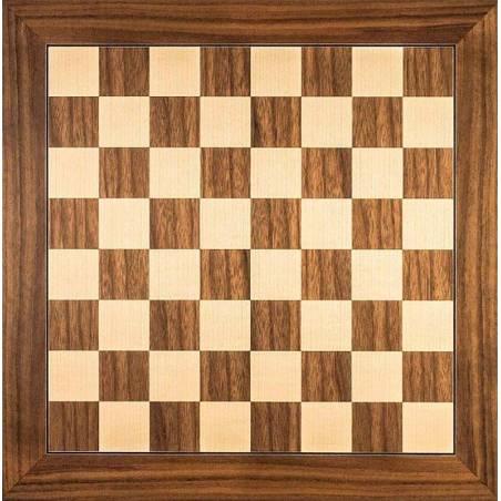Chess board Nogal 40 cm. top. Rechapados Ferrer