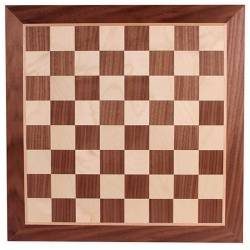 Chess board Walnut 48 cm.