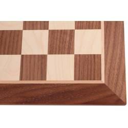 Chess board Walnut 48 cm.