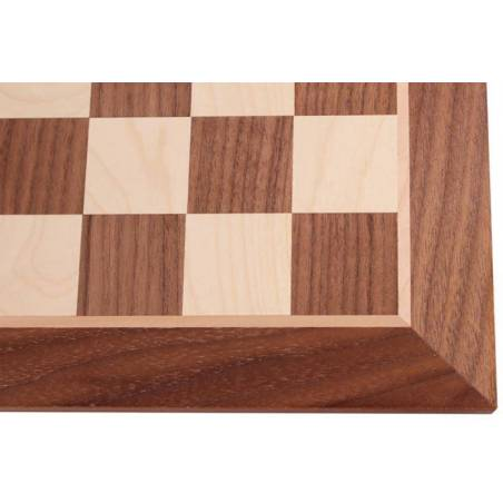 Chess board Walnut wood 44 cm.