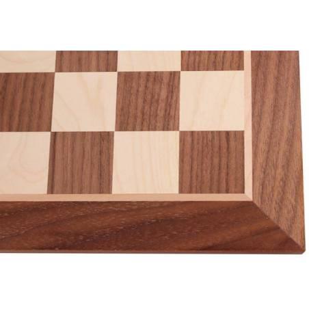 Tauler escacs Fusta de Noguera 44 cm.