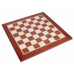 Tablero de ajedrez madera Caoba 48 cm