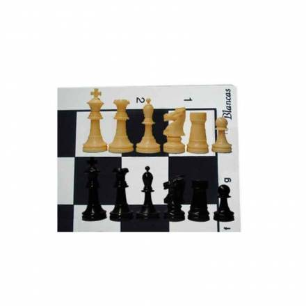 Offer. 10 Staunton boards MS45 and pieces 5/6