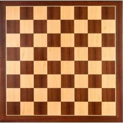 Tablero ajedrez Madera Sapelly 40x40 cm. Rechapados Ferrer