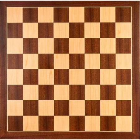 Chess Board Sapelly wood 40x40 cm. Rechapados Ferrer