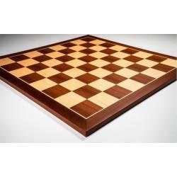 Chess Board Sapelly wood 40x40 cm. Rechapados Ferrer