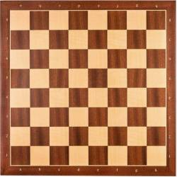 Sapelly chess board 45 cm. with coordinates Rechapados Ferrer