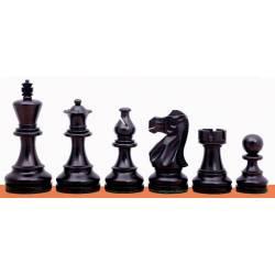 Peces escacs model Classic Acacia y Ebonitzat