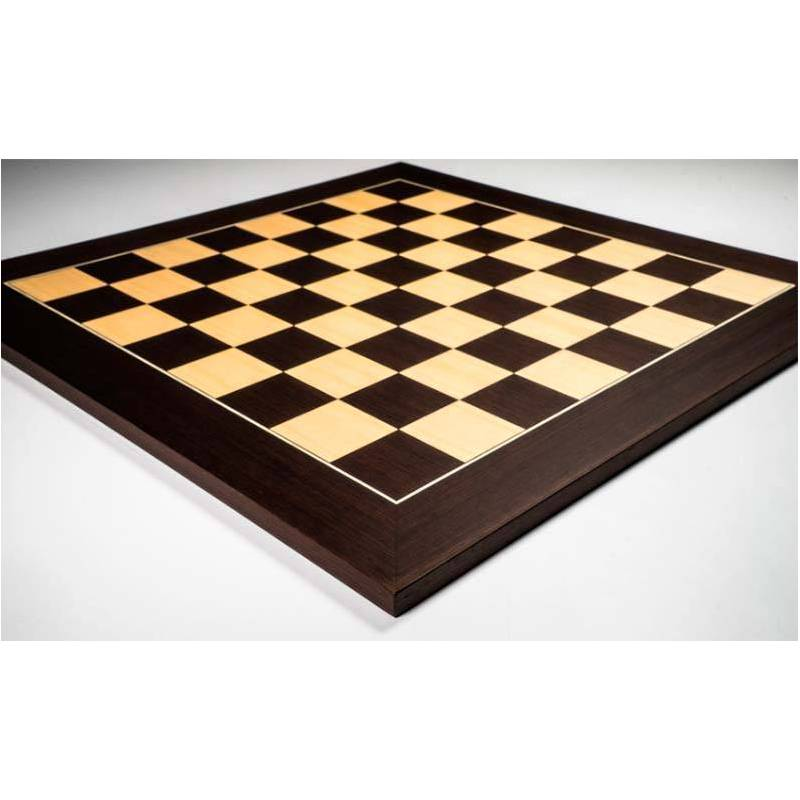 Wengue board 55 cm and pieces model Zagreb