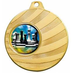 Chess medals for their championships 70 mm.