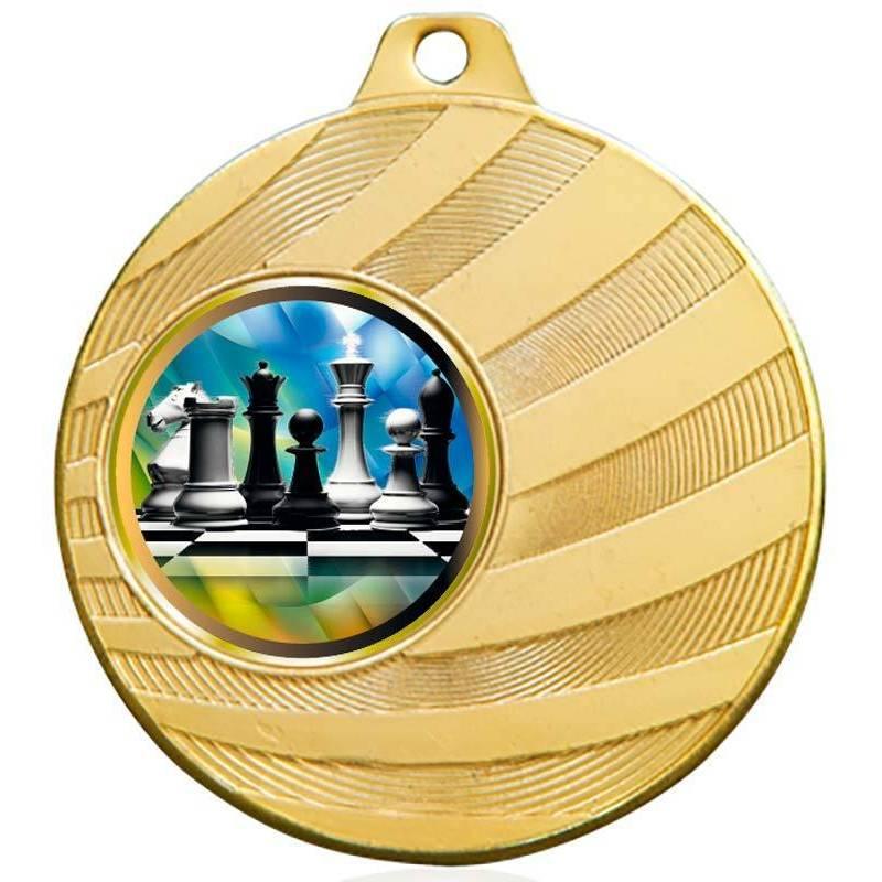 Medalles d'escacs per als seus campionats 70 mm.