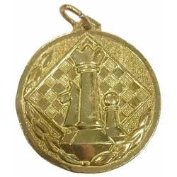 Medalles d´escacs amb dissenys macos